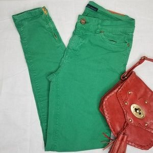 Zara Basic Jeans Collection Vintage Deluxe - Green